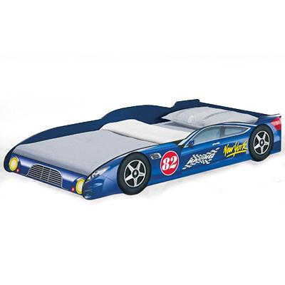 103d1a957d6 Παιδικό Κρεβάτι Αυτοκίνητο New York 82 Blue 200 ΟΕΜ